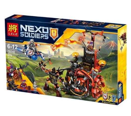Конструктор Lele серия Nexo Soldiers 79240 Джестро - мобиль (Аналог Lego Nexo Knights 70316)