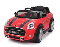 Детский электромобиль  Mini Cooper T-7910 RED на радиоуправлении