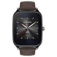 Смарт-часы Asus ZenWatch 2 WI501Q Stainless Steel Gunmetal/Brown Leather , фото 1