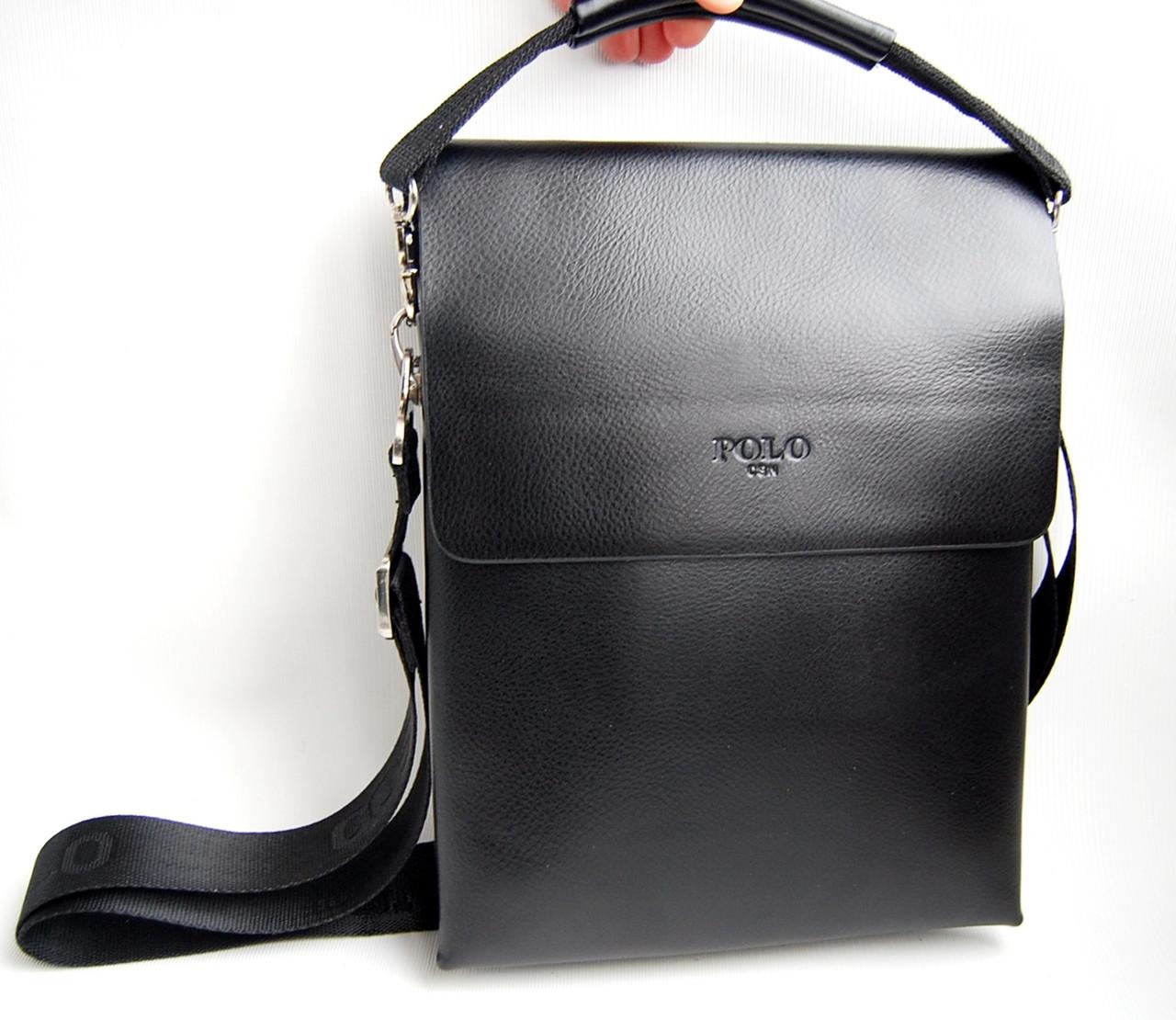 fd261c7b6ddd Мужская сумка-планшет Polo 9880-3 с ручкой КС31 - интернет-магазин