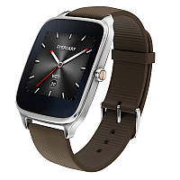 Смарт-часы Asus ZenWatch 2 WI501Q Stainless Silver/Taupe Rubber , фото 1
