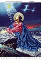 """Схема для вышивки бисером """"Молитва о чаше""""."""