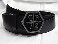 Ремень мужской кожаный PHILIPP PLEIN 40 мм 930482