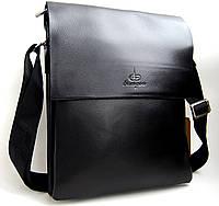 Большая мужская сумка Langsa 6637-4. под формат  А4   КС33