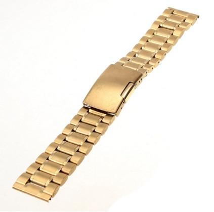 Браслет для часов золото