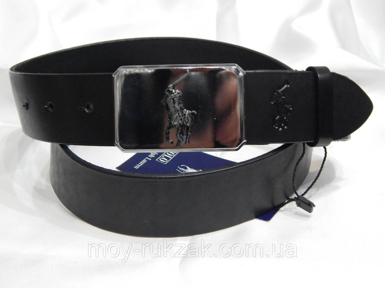 Ремень мужской кожаный Polo Ralph Lauren 40 мм, реплика 930497