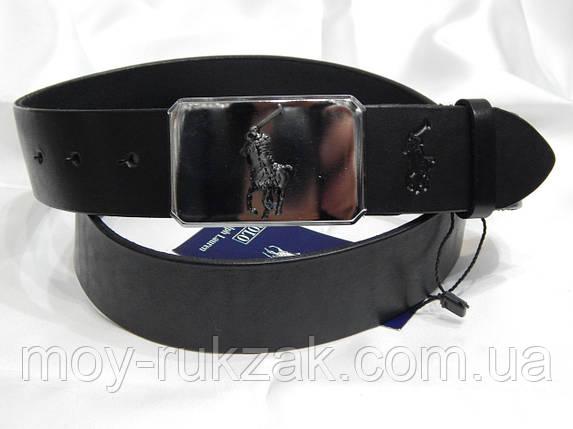 Ремень мужской кожаный Polo Ralph Lauren 40 мм, реплика 930497, фото 2
