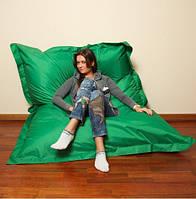 Зеленое кресло мешок подушка 140*180 см из ткани Оксфорд, кресло-мат