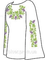 Заготовка вышивки бисером Женская сорочка