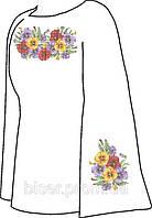 Заготовка для вишивки бісером жіноча сорочка. Вишиванка бісером. 1fb9543ed605d