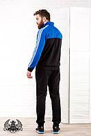 Спортивный мужской костюм Adida. Материал: турецкая двух нитка . Размер 46-52.