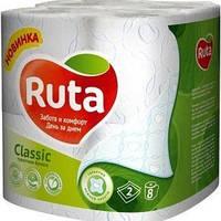 Туалетная бумага Ruta Софт белая 8 шт.