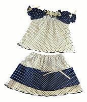 Комплект юбка и кофточка для девочки