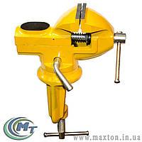 Тиски слесарные поворотные мини 50 мм MasterTool