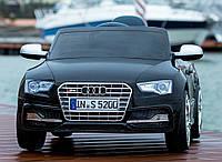 Детский электромобиль Audi S5 BLACK с пультом управления