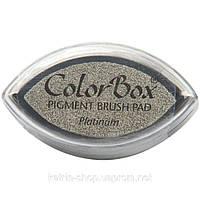 Пигментные чернила ColorBox Metallic Pigment Cat's Eye Inkpad Platinum