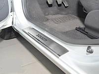 Накладки на пороги Renault Dokker
