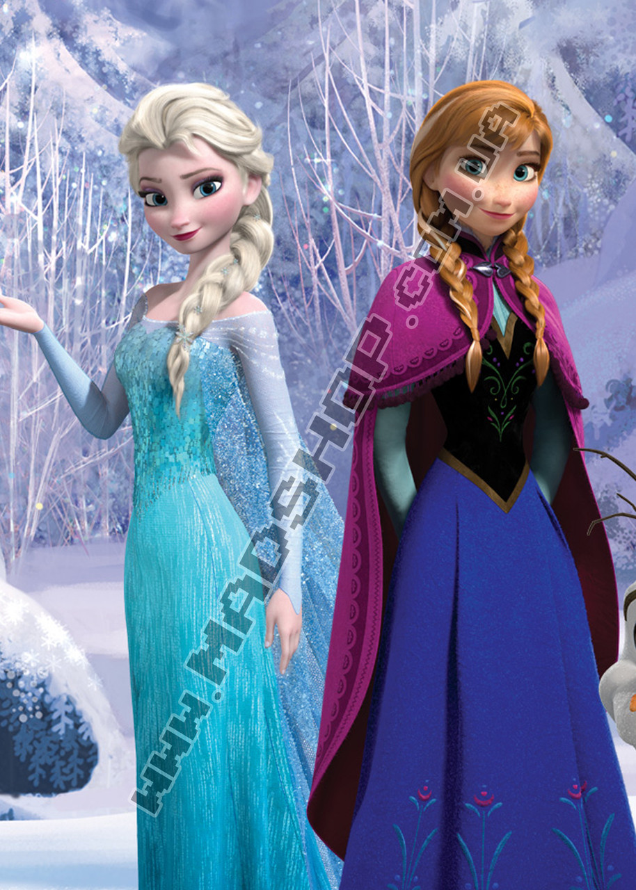 Картина 40х60 см Холодное сердце Ельза и Анна