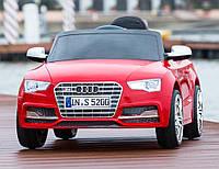 Детский электромобиль Audi S5  RED с пультом управления