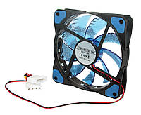 Вентилятор 120 mm GTL 15LED FAN Blue-Black