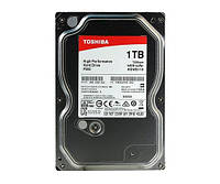 Жесткий диск 1Tb Toshiba P300, SATA3, 64Mb, 7200 rpm (HDWD110UZSVA)