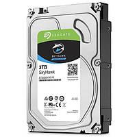Жесткий диск 3Tb Seagate SkyHawk Surveillance, SATA3, 64Mb, 5900rpm (ST3000VX010)  для систем видеонаблюдения