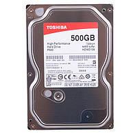 Жесткий диск 500Gb Toshiba P300, SATA3, 64Mb, 7200 rpm (HDWD105UZSVA)
