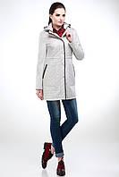 Женское пальто с капюшоном большой размер мода весна 2017 размер до 50