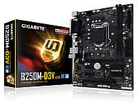 Мат.плата 1151 (B250) Gigabyte GA-B250M-D3V