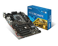 Материнская плата 1151 (H110) MSI H110 PC MATE