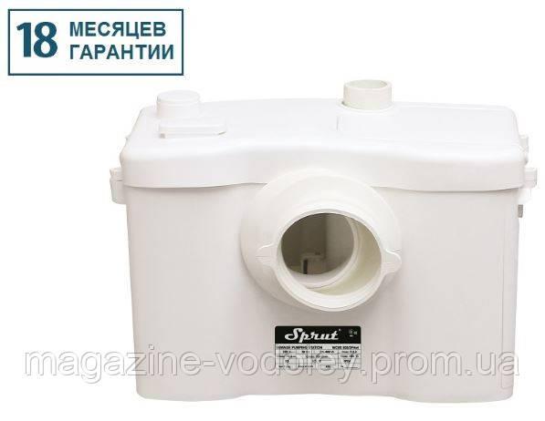 Канализационная станция  для горячих стоков WC 600/2F HOT (10 куб/ч ,8м)