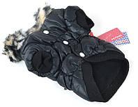 Куртка для собаки Petsoo чёрная