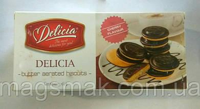 Печенье  Делиция (Delicia), вишня, 135г , фото 3