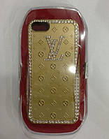 С камнями LV soft drill shell for iPhone 5/5S