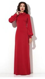 Плаття в підлогу з щільного трикотажу