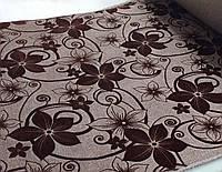 Ткань для обивки мебели Шервуд коричневый