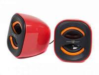 Акустическая система Maxxter AS20R красный, пластик, 2 x 3 Вт (RMS)
