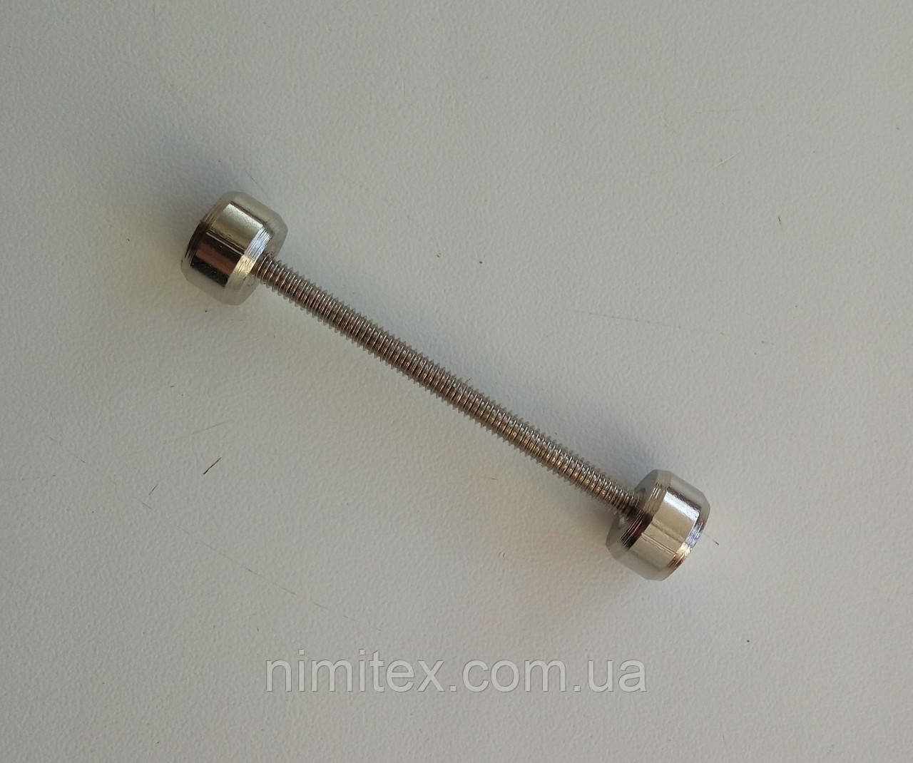 Штанга 40 мм никель