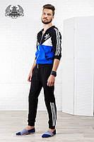 Спортивный мужской костюм Adidas. Материал: турецкая двух нитка. Размер 46-52.