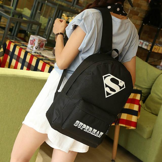 Молодежный рюкзак супермен