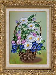 """Набор для вышивания атласными лентами """"Летние цветы"""""""