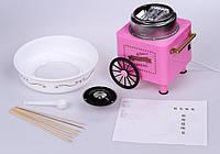 Домашняя сладкая вата с аппаратом Cotton Candy Maker, Каттон Кенди Карнавал
