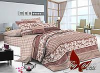 Двуспальный комплект постельного белья ранфорс R-1722 TM TAG