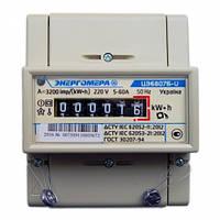 Электросчетчик Энергомера  однофазный однотарифный ЦЭ6807Б-U K1.0 220B (5-60А) М6P5