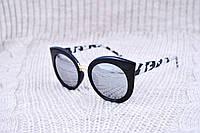 Большие солнцезащитные зеркальные очки