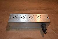 Плита монтажная импортная 3х секционная с клапаном Cetop 3