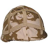 Чехол (кавер) на каску cover combat helmet Desert DPM. ВС Великобритании, оригинал.
