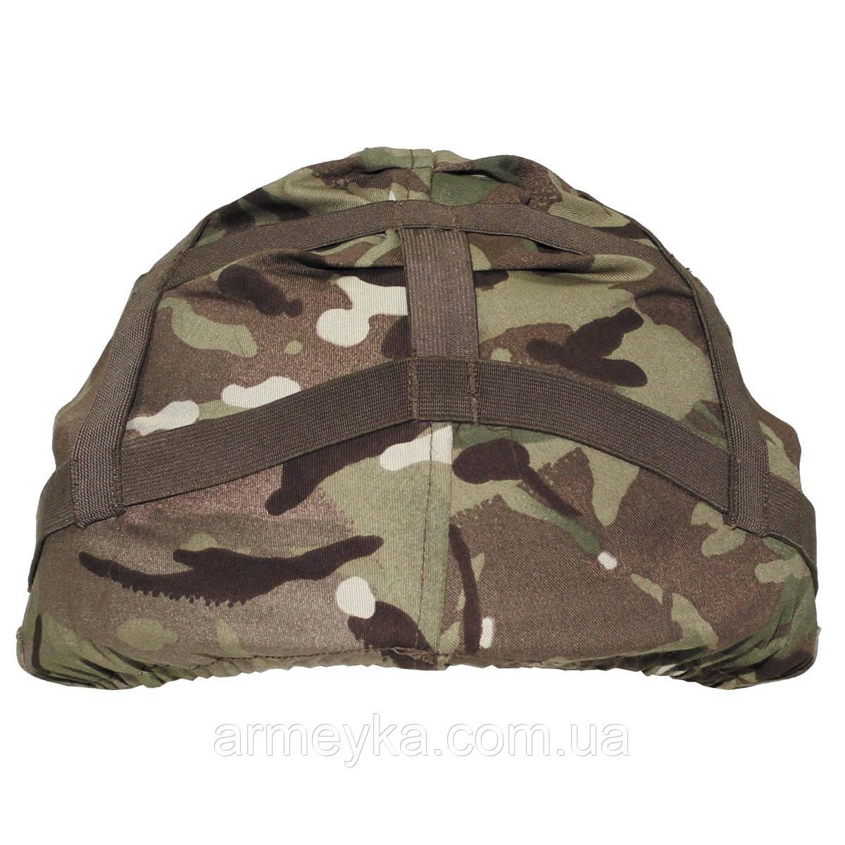 Чехол (кавер) на каску cover combat helmet MTP. НОВЫЙ. ВС Великобритании, оригинал.