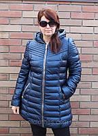 Куртка с кожзама