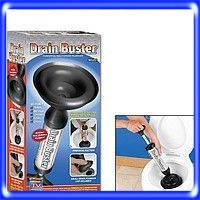 Drain Buster, для чистки раковин,  унитаза, ванны, для труб